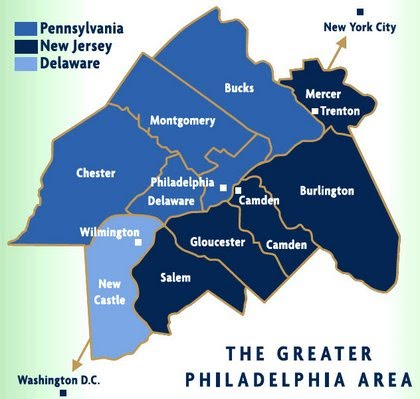 Primary Service in the Greater Philadelphia Area